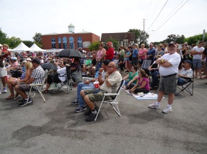 harry clyde 4000 fans The Caverners Beetles Tribute Canal Days Port Colborne ON 5 Aug 13 Linda Randall