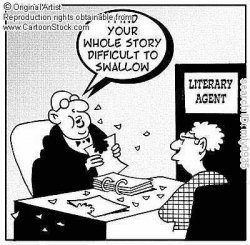 Image result for literary agents cartoon