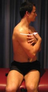 Sitting Twists At Waist Upper Back Stretches Sitting