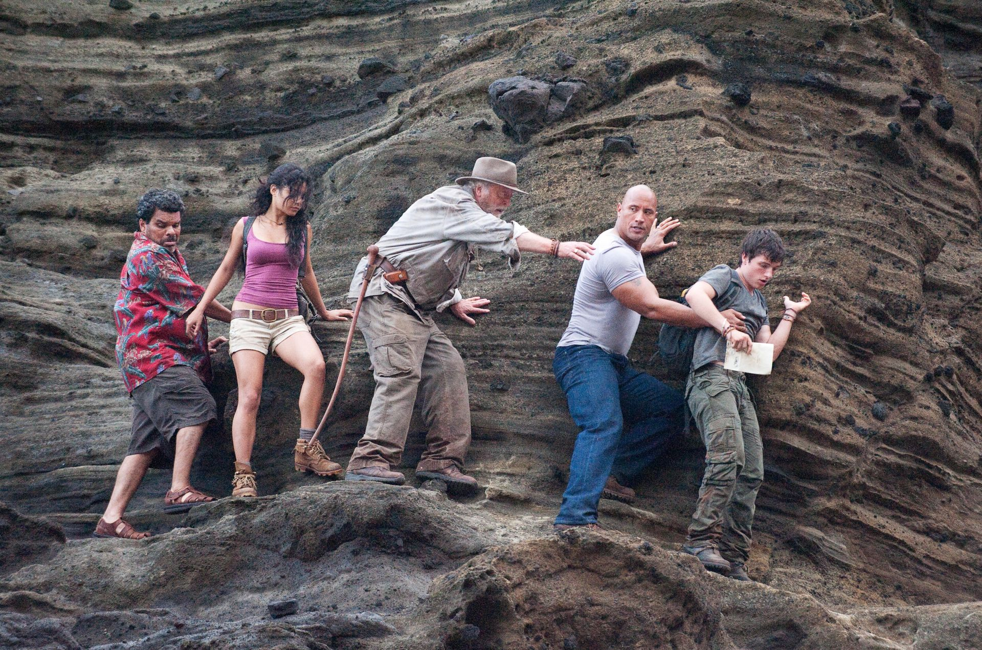 Journey 2 The Mysterious Island 2012 brad peyton brian ...
