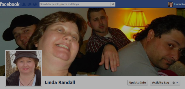 Linda Randall Tim Tenbrinke Jeff Tenbrinke Harold Chisholm Dec 2012 Christmas Time - Facebook Profile