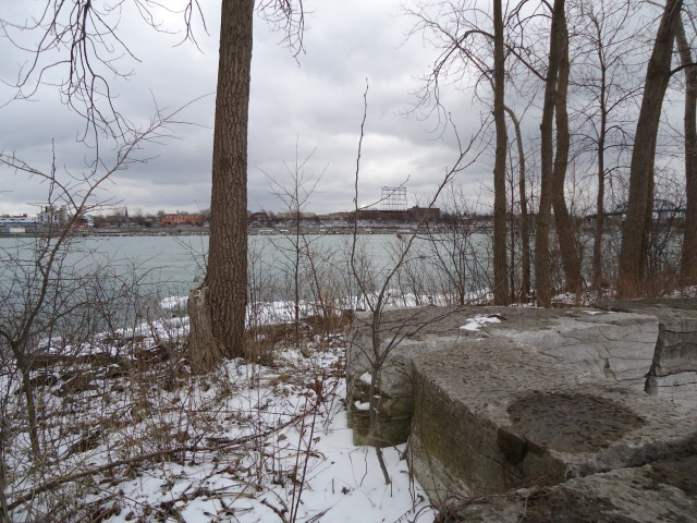 spring thaw buffalo NY from Fort Erie ON mar 23 2013 Linda Randall
