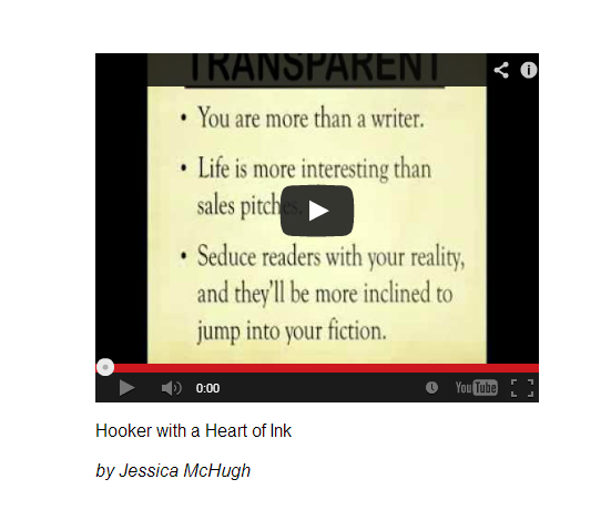 PROMODAY 2013 #PD13 free writers webinar Hooker with a Heart of Ink by Jessica McHugh