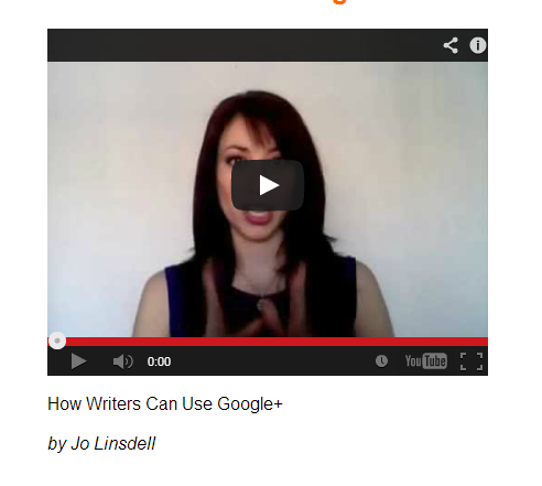 PROMODAY 2013 #PD13 free writers webinar How Writers Can Use Google+ by Jo Linsdell