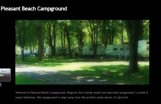 Pleasant Beach Campground sherkston shores campground and resort ridgeways lake erie fort erie