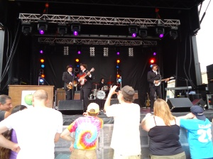 The Caverners Beetles Tribute Canal Days Port Colborne ON 5 Aug 13 Linda Randall