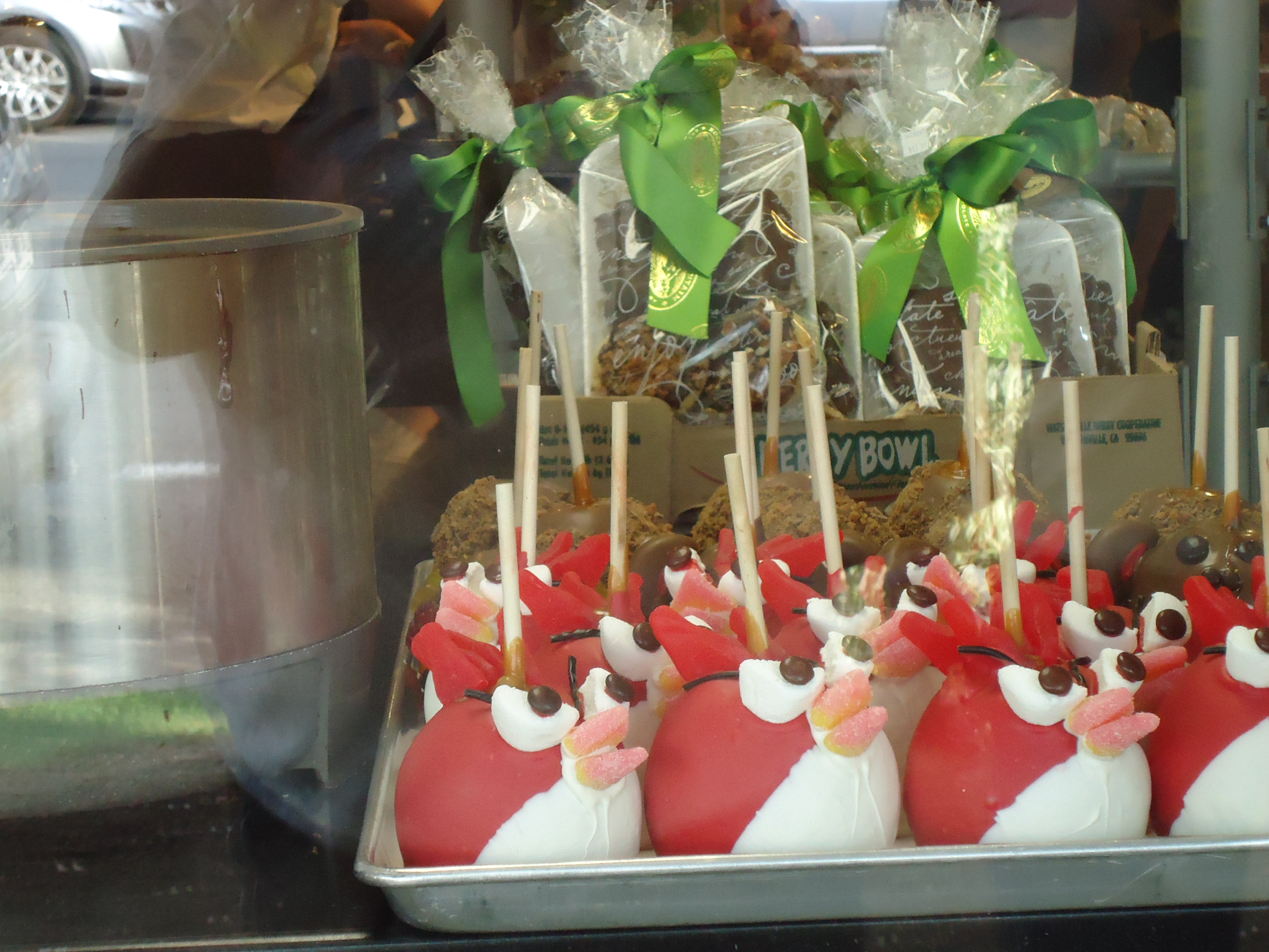 Rocky Road Candy Apples Cute Bird Candy Apples Rocky