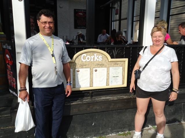 Harold Linda  Corks Winebar  Eatery 19 Queen St NOTL 289 868 9527