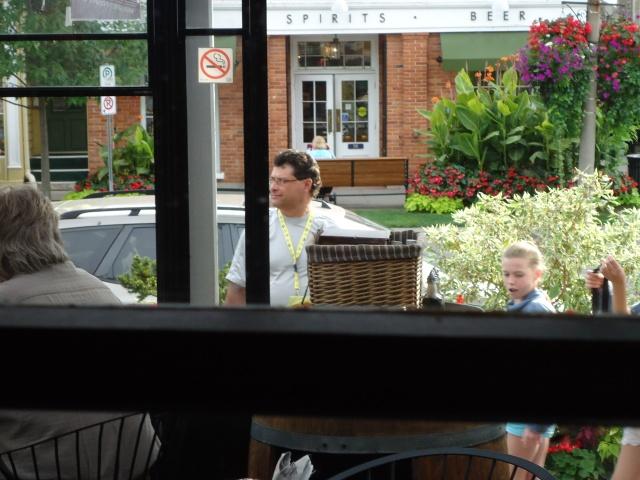 Harry LCBO liquor store across street from Corks Winebar Eatery NOTL