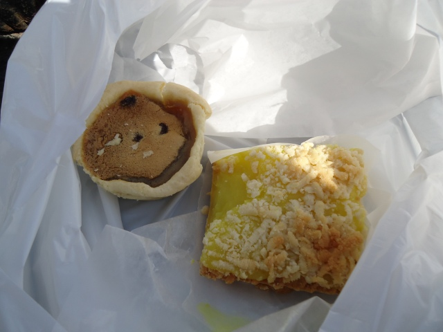raisin butter tart lemon square taylor bakery queen st yum NOTL