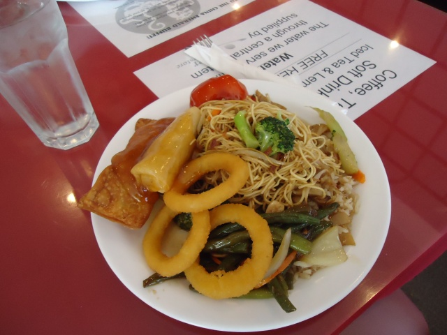 rehersal lunch china emerald buffet  st catharines linda randall