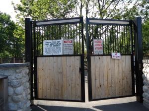 security gate happy rolf's farm read rd st catharines honeymoon trip linda randall chisho