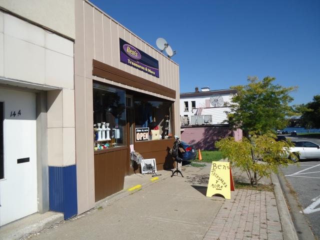 Ben's Treasures & More 12 Jarvis St (Klauck St) Fort Erie ontario Canada (niagara pkwy river view) linda randall sept 27 2013-  289 321 0814