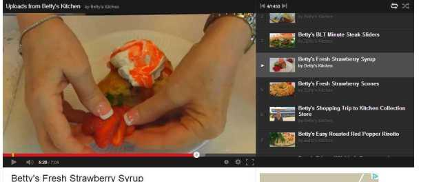 Betty's kitchen Fresh Strawberry Syrup - YouTube dessert recipe lunch snack tea time how to make it videos the idea girl says wordpress linda randall