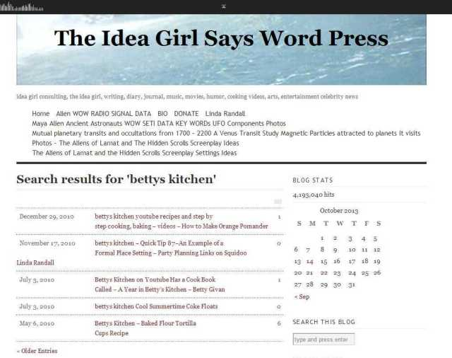 bettys kitchen youtube channel how to make recipes videos - Search Results - The Idea Girl Says Word Press linda randall idea girl canada