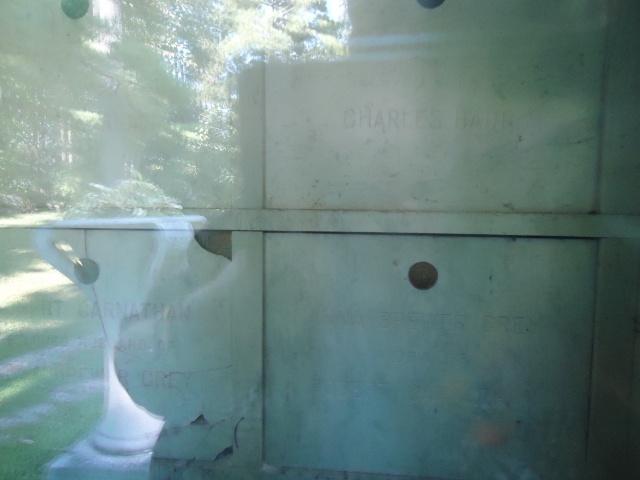 crypt tomb family coffins st mark's cemetery NOTL linda randall 29 sept 2013