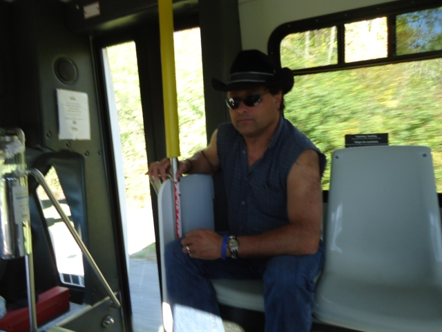 harold fort erie transit bus ridgeway fall festival linda randall