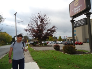 Harry clarion Hotel Buffalo Rd Parking Lots to YMCA