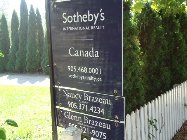 haunted swayze's cottage NOTL for sale sotheby's international reality