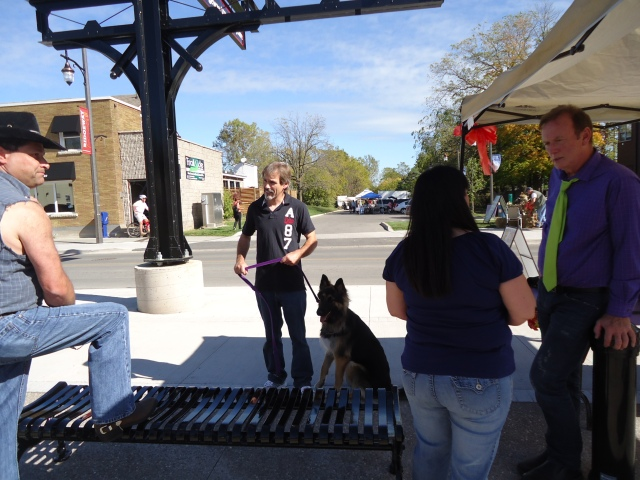 jeff german shepherd harold chisholm ridgeway fall festival 12 oct 2013 linda randall