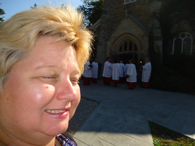 linda randall St Mark's Church Choir NOTL Ontario 29 sept 2013