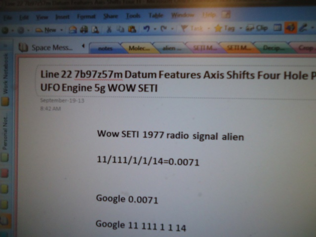 Line 22 7b97z57m datum features axis shifts four hole pattern UFO engine 5g WOW SETI linda randall the idea girl says youtube channel