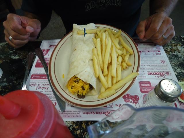 soft taco fries harry sambo's restaurant 203 main st W Port Colborne Ontario YUM linda randall