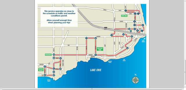 Transit fort erie bus route and schedule 2013 fort erie map jarvis st to crystal beach ridgeway niagara parkway ontario canada peace bridge travel tourism idea girl canada linda randall
