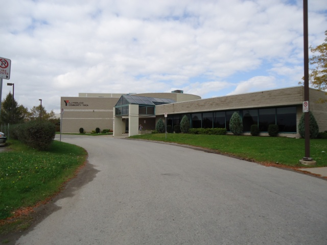 YMCA front Entrance driveway from Buffalo Rd Fort Erie Linda Randall