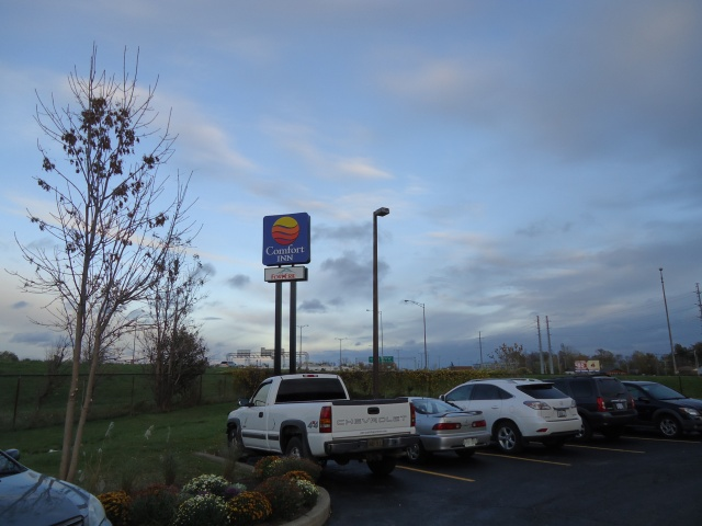 comfort inn qew fort erie bertie thompson exit to concession st walden ave to hospitality dr