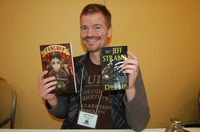 Derek Clendening recommends good reads amazon author Jeff strands books fang boy dweller
