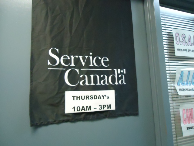 service canada open thurs 10 am to 3 pm job gym  fort erie (central ave) ontario linda randall