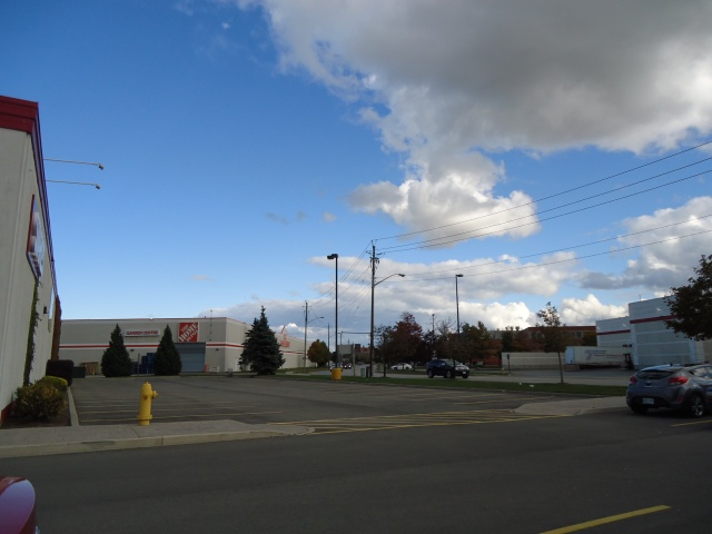 Staples 10 YMCA Dr St Catharines Ontario Canada (905) 937-4292  view towards YMCA home depot fairview mall