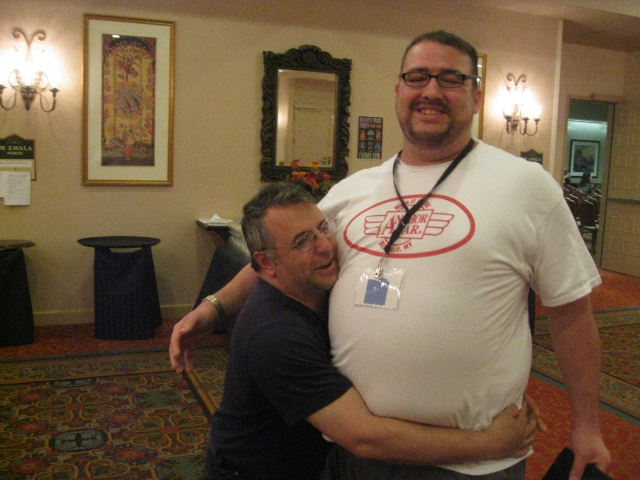 world horror convention Derek Clendening and Nick Mamatas
