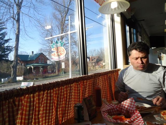 aneta pizzeria window view ridge rd n ridgeway ontario canada linda randall