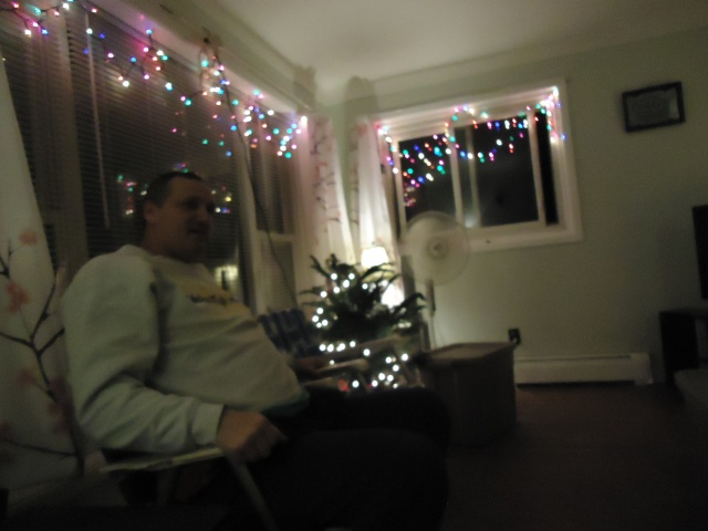danny my christmas lights living room christmas tree walmart linda randall party 30 nov 2013