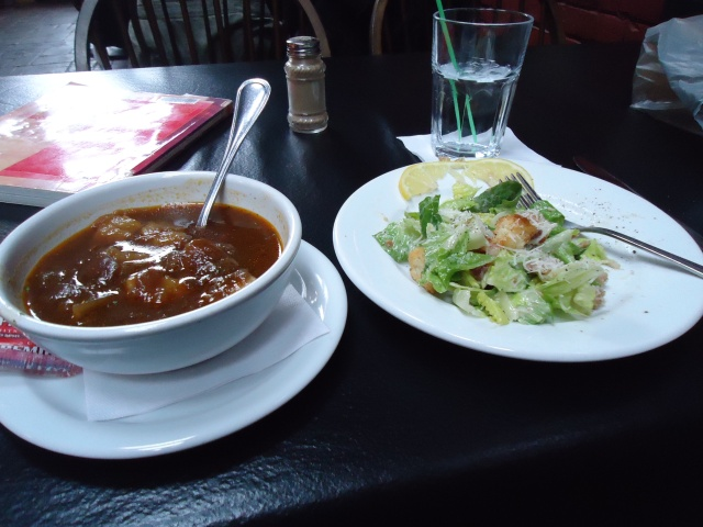 soup salad combo under $10 old bank bistro jarvis st fort erie ont canada linda randall
