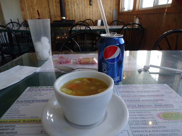 soup sandwich pop combo royal town diner under $7 linda randall