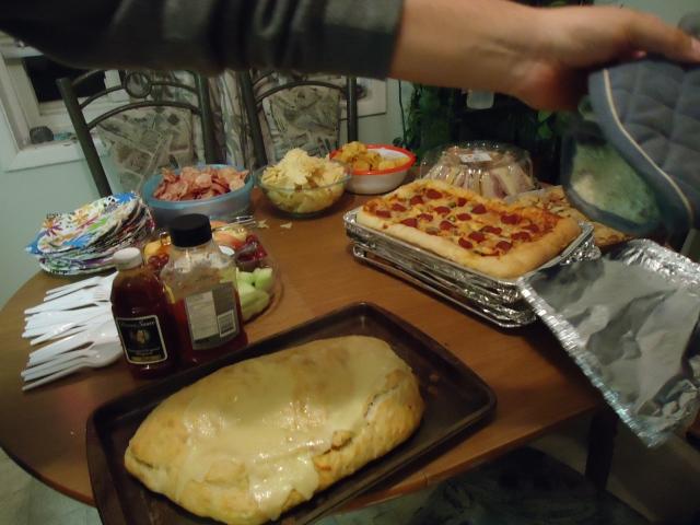 worlds biggest panzerotti garth christmas party foods Christmas Party  30 nov 2013 linda randall