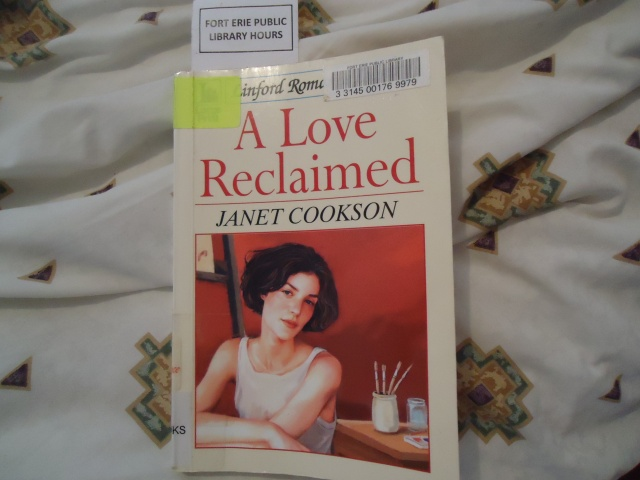 A Love Reclaimed Janet Cookson