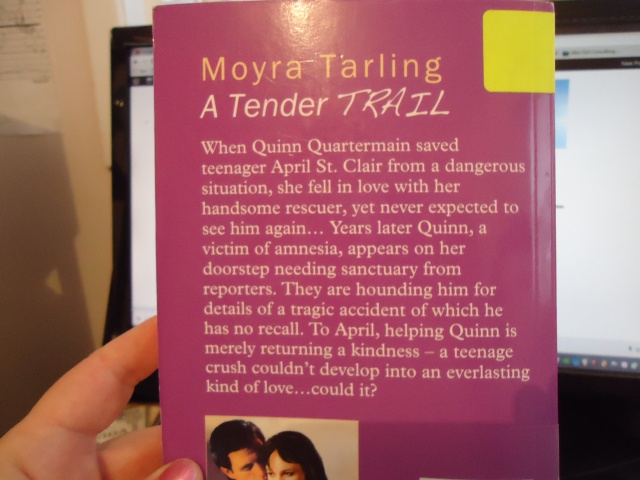 a tender trail moyra tarling book cover