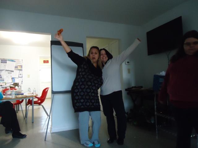 barb tina jessica community house women empowerment dec 2013 linda randall