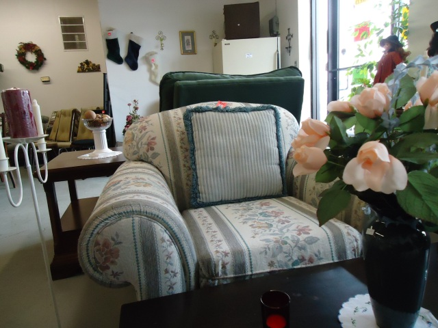 Bargain Central new couch n chair set Linda Randall $150 2 pcs