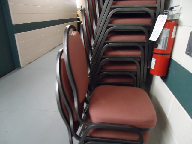 comfy chairs 500 people Leisureplex Lions Dining Hall Fort Erie Ontario Canada Linda Randall