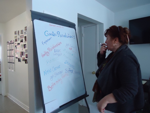 deb thinks of things to write goals resolutions community house 2 jan 2014 linda randall