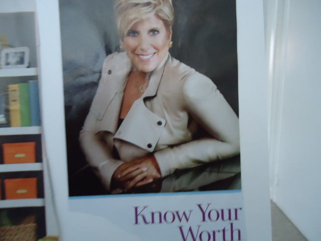 have confidence know your worth linda randall goal vision board 2014
