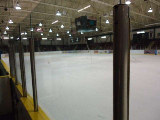 ice is removed in summer kinsmen arena leisureplex fort erie ontario canada seats 1600 people plus linda randall