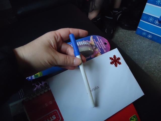 journal pen linda randalls gift bag from debbie community house dec 2013