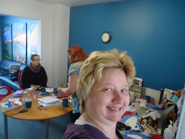 linda randall (idea girl) ashley debbie redstacks retirement home christmas card crafts community house dec 2013