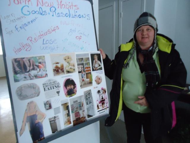 linda randall Vision Board new years resolutions 2014